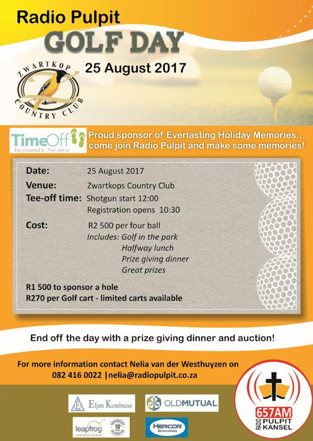 Golfday 25Aug2017