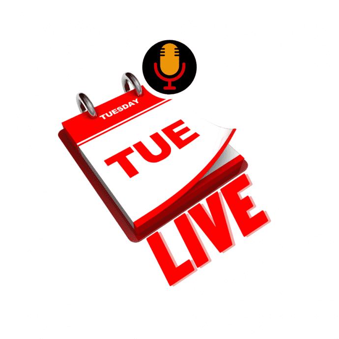Tuesday Live toegerus